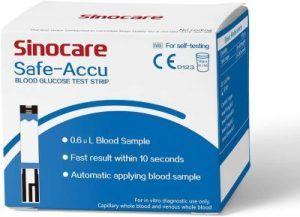 Safe Accu tiras reactivas