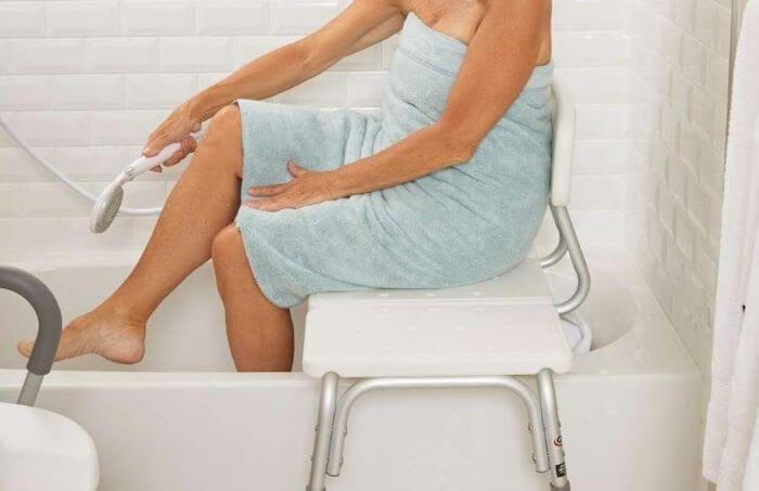 silla de ducha ortopédica